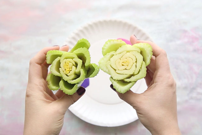 Vegetable Printing with Celery