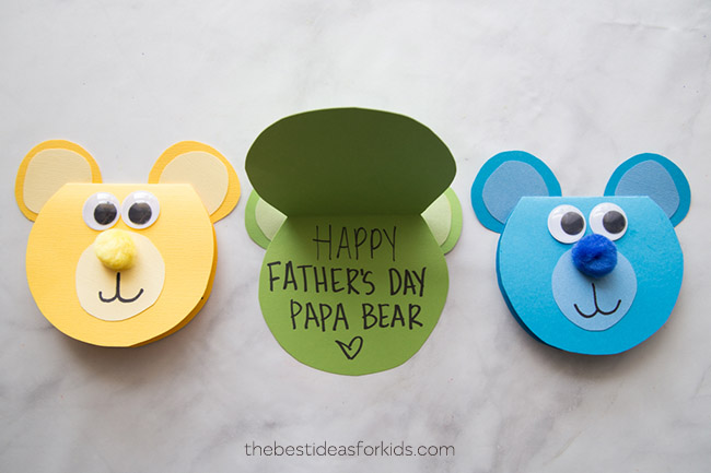 Father's Day Bear Craft