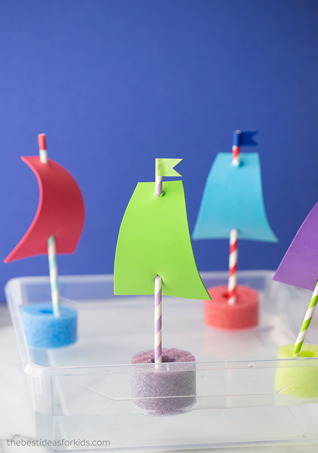 How to Make Pool Noodle Boats DIY