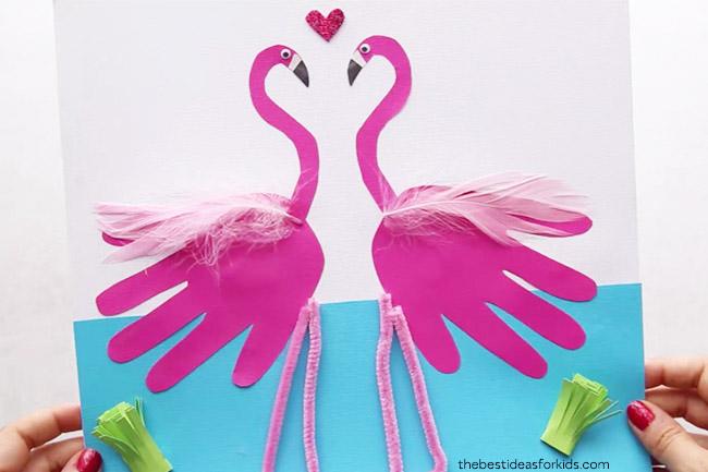 Flamingo Craft Idea