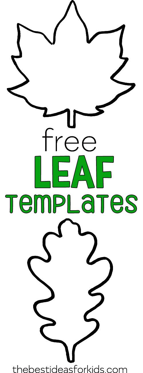 Free Printable Fall Leaf Templates