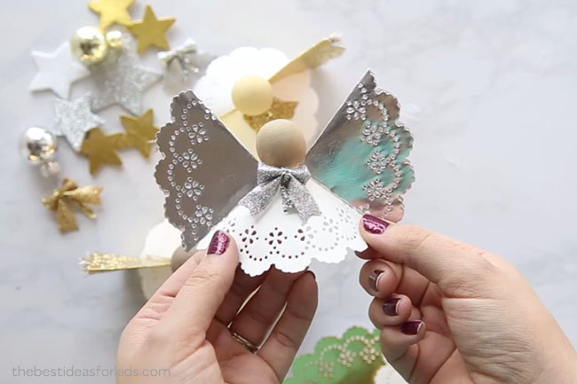 Angel Doily Ornament Craft