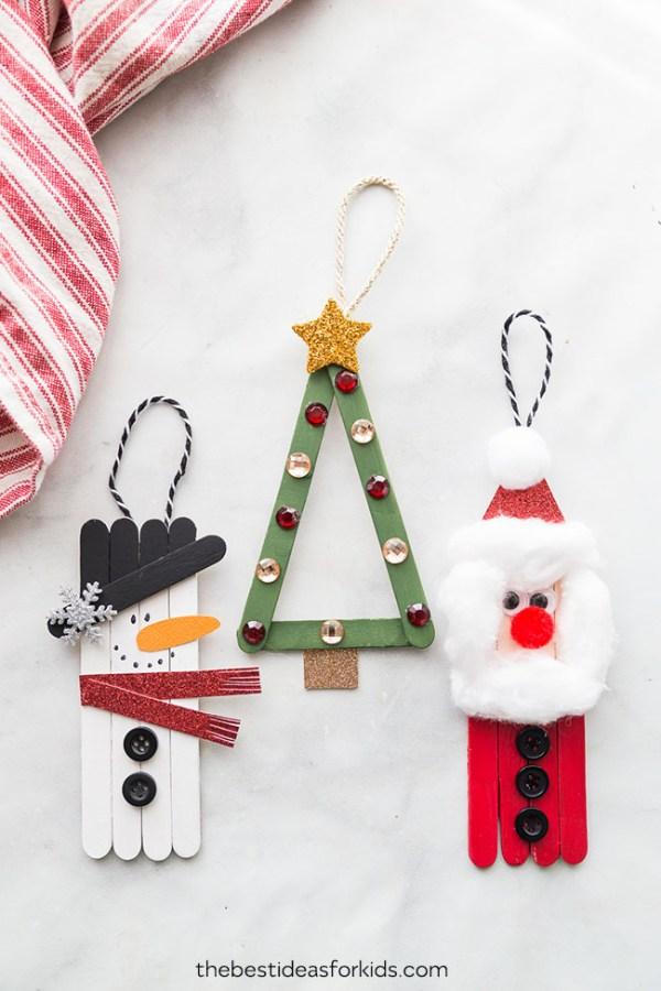 christmas ornaments popsicle sticks # 8