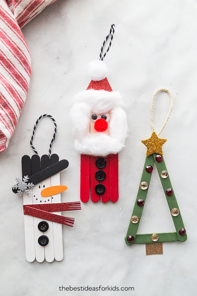 Popsicle Stick Christmas Crafts The Best Ideas For Kids