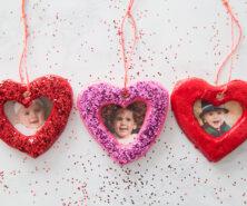 Salt Dough Heart Ornament