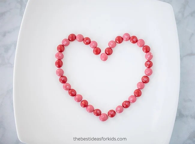 Skittles Heart Experiment
