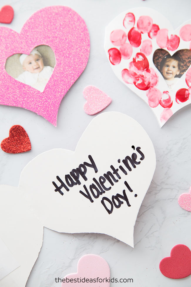 Valentine Fingerprint Card