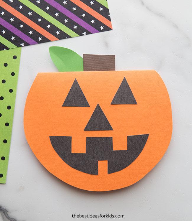 Handmade Pumpkin Card