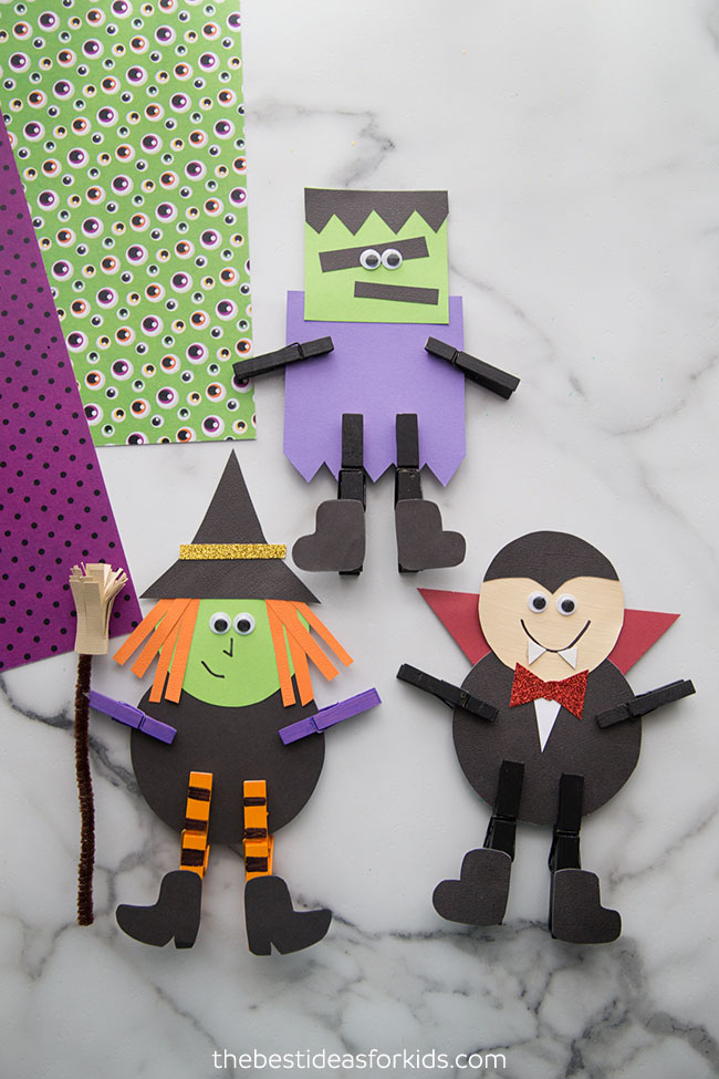 Halloween Clothespin Craft