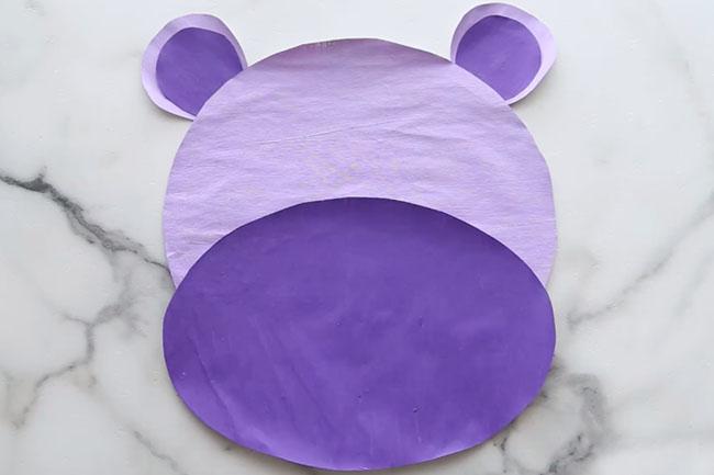 Hippo Newspaper Craft