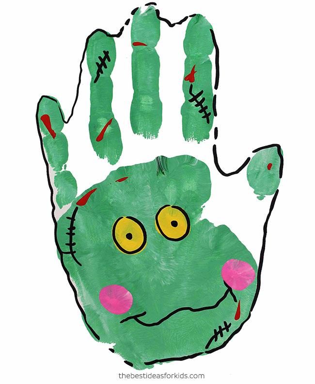 Zombie Handprint