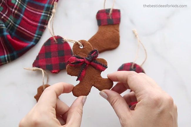 Gingerbread Cinnamon Applesauce Ornament