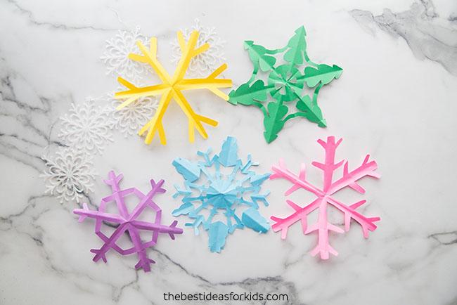 Free Snowflake Template