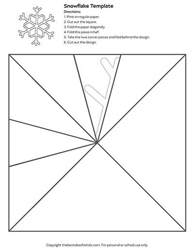 Template 4 - Snowflake