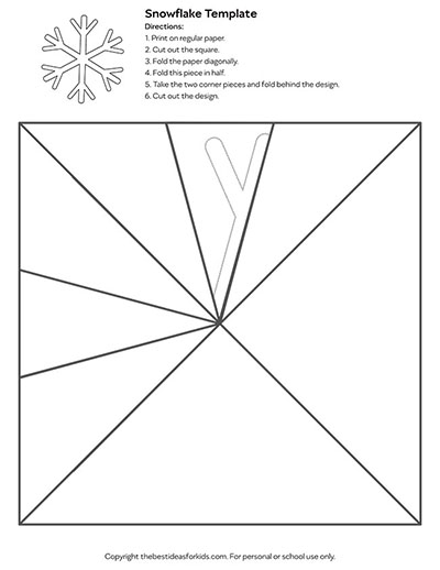 Template 5 - Snowflake