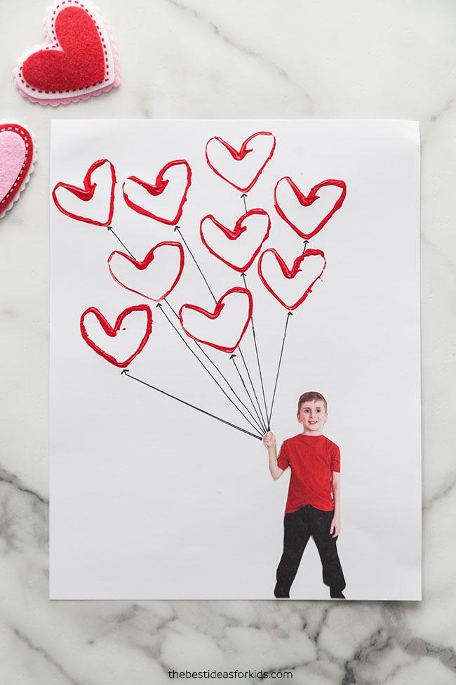 Valentine's Day Balloon Craft