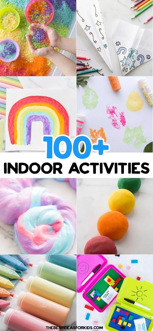 100 Indoor Activities For Kids With Free Printable The Best Ideas For Kids