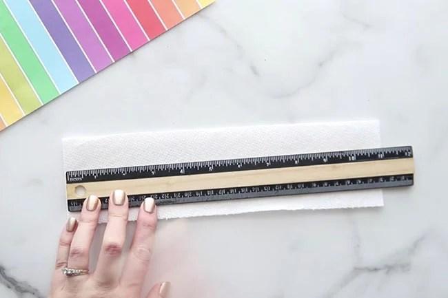 Measure Paper Towel