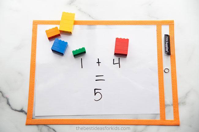 Lego Math Activity Idea