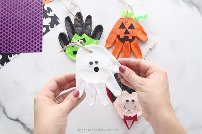 Add Twine to Halloween Ornaments