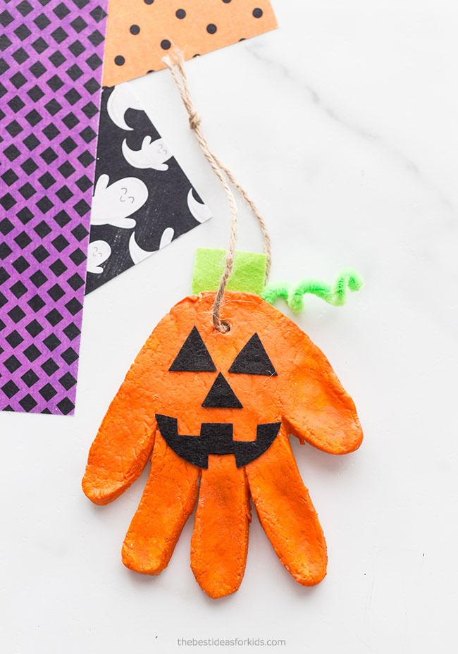 Pumpkin Salt Dough Ornament