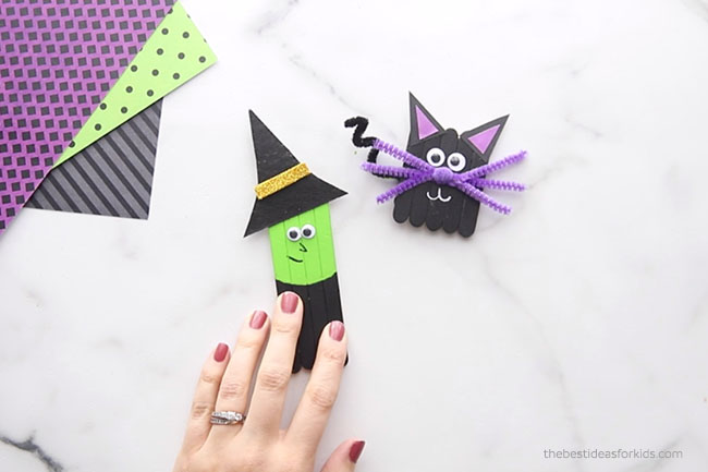 Add Googly Eyes to Witch