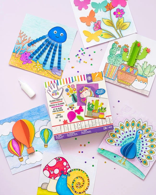 Color Pages Kit for Kids