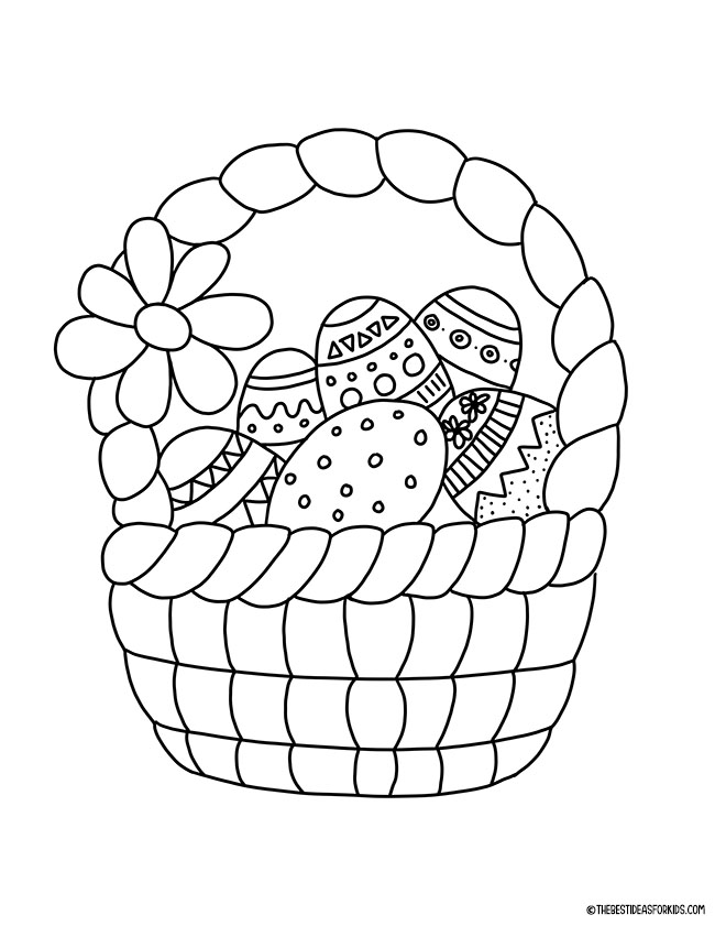 Easter Coloring Pages - The Best Ideas For Kids