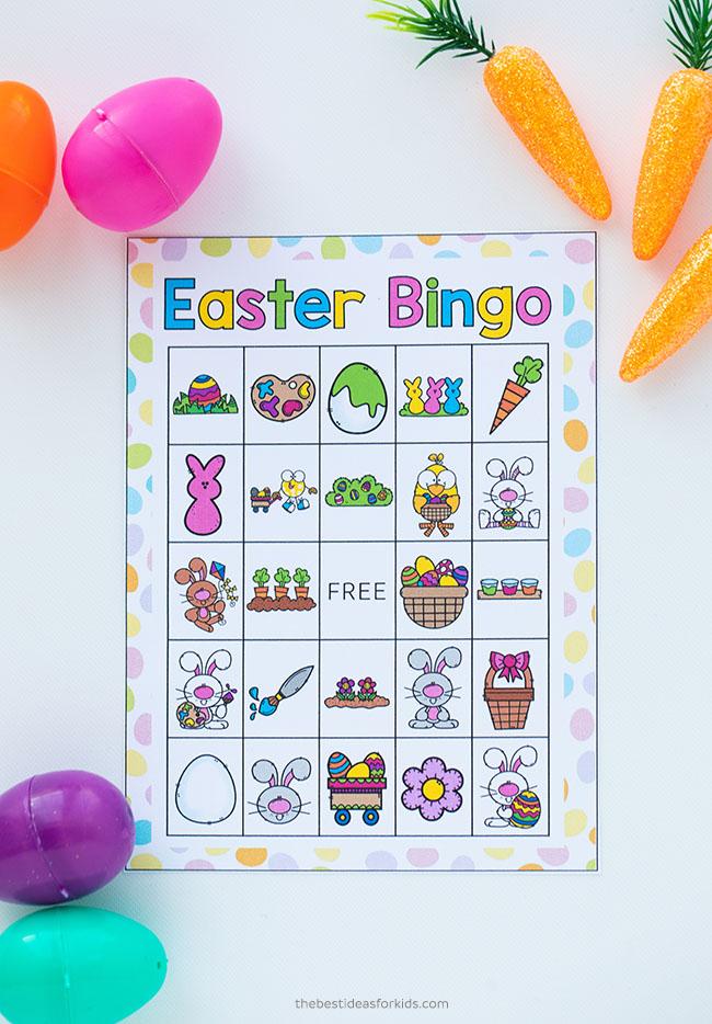 Easter Bingo Printable free