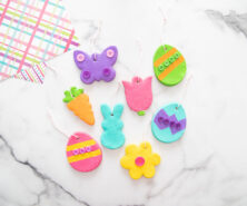 Salt Dough Easter Ornaments