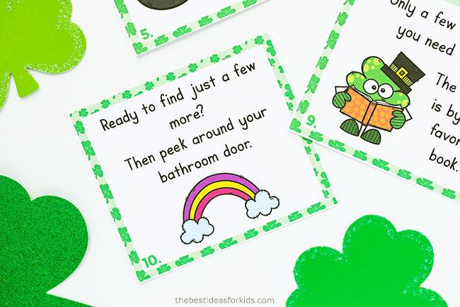 Treasure Hunt for St Patrick's Day