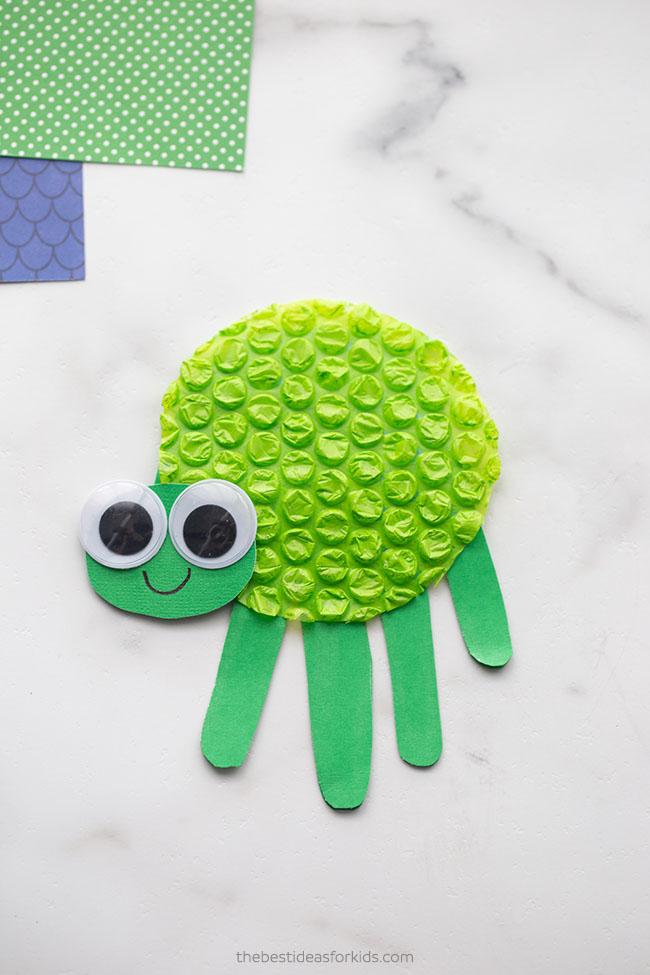 Turtle Handprint Card