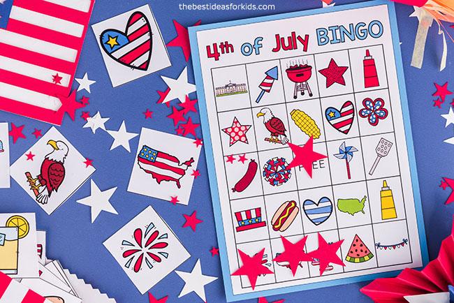 4 de julho bingo