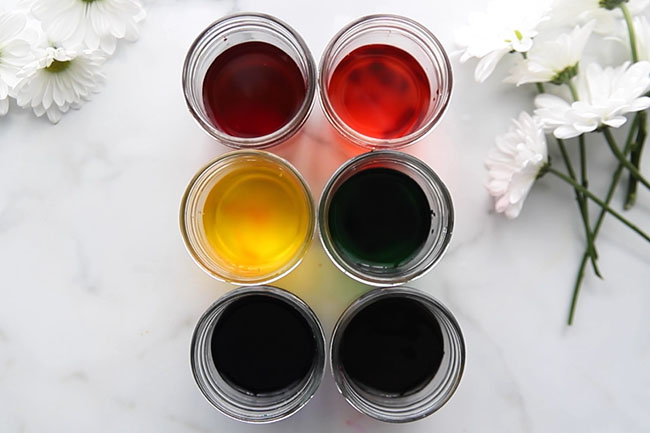 Add Food Coloring for Experiment