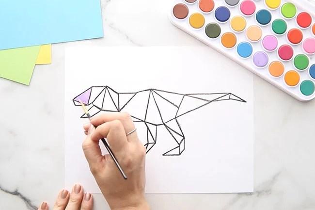 Paint with Watercolor Paints