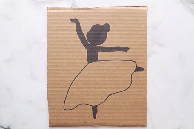 Fill in Ballerina with Marker