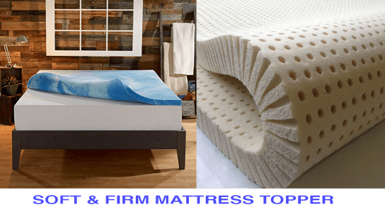 Firm And Soft Mattress Topper