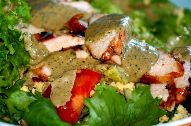 Grilled Chicken wasabi dressing recipe