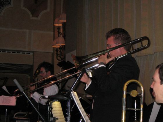 Me Playing during one of the combined orchestra nights
