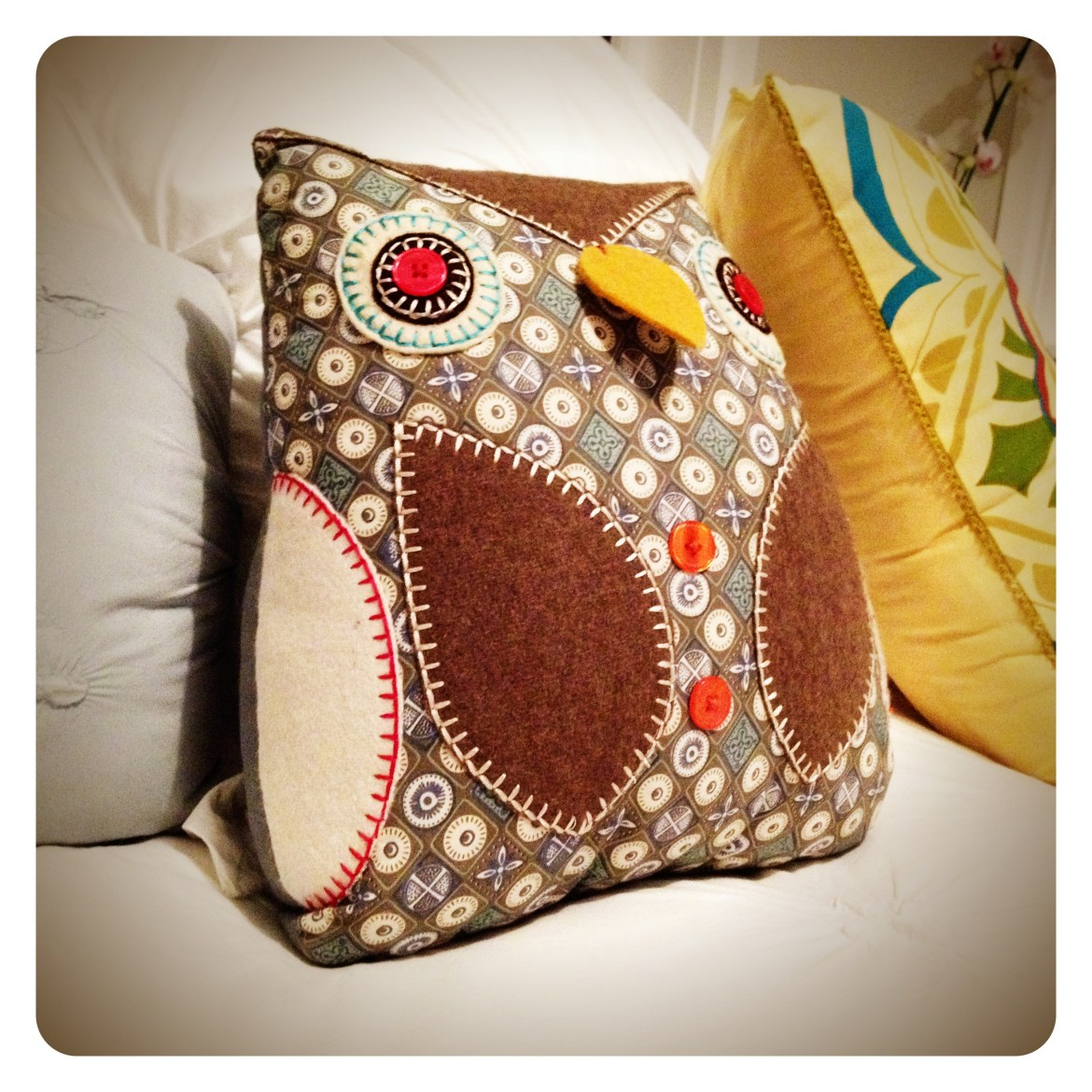 Owl Cushion, Freedom Furniture