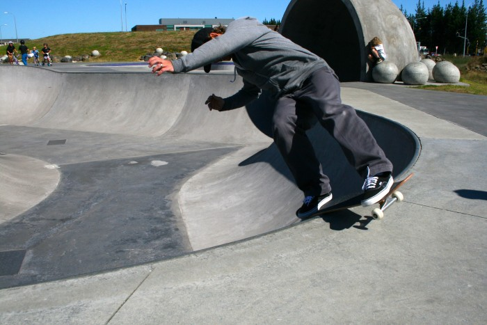 My husband is a Skateboarder