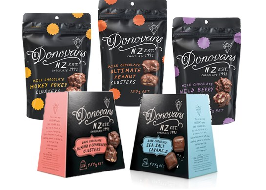 Donovans Chocolates New Zealand
