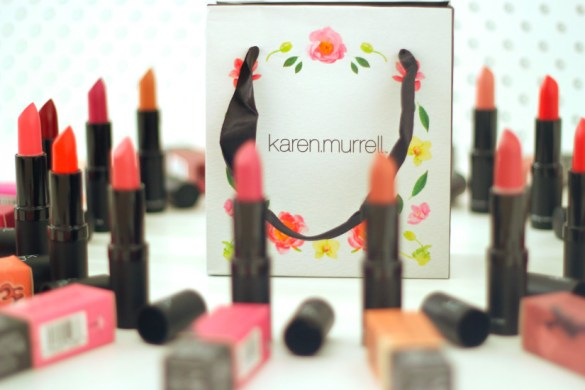 Karen Murrell Lipstick Beauty Blogger New Zealand