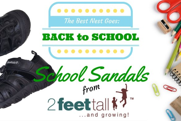New Zealand's Top Mummy Blogger Blog School Sandlas leather shoes