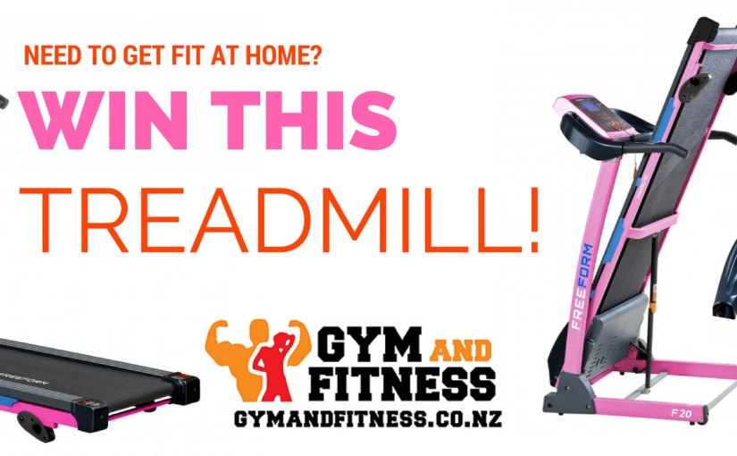 Get fit in 2017 – Win your own PINK Treadmill!