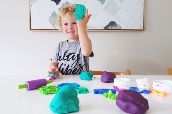 New Zealand's Top Mummy Blogger Parenting Travel Blog Natural Play dough