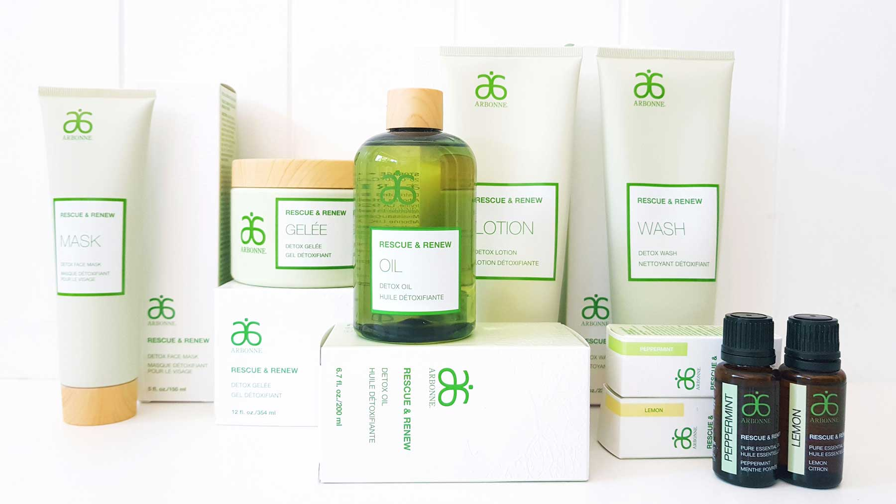 arbonne rescue and renew reviews