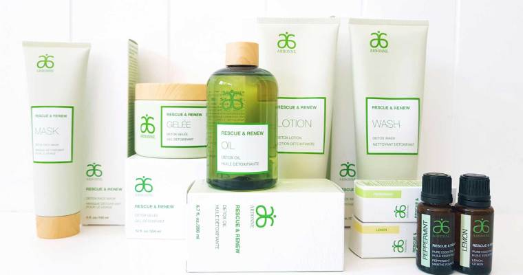 Beauty Review – Arbonne Rescue & Renew