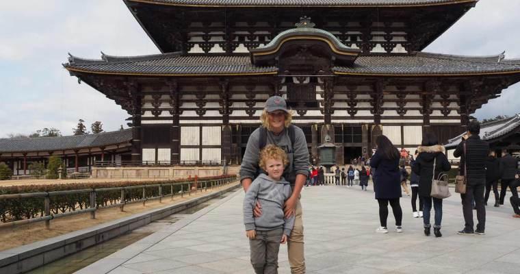 Family Travel Japan:  Nara and the Great Buddha