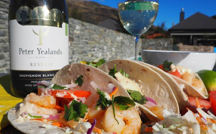 New Zealand's Top Travel Lifestyle Blog Prawn Shrimp Tacos Recipe